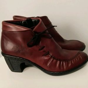 RIEKER Lined 💯% Leather Bootie